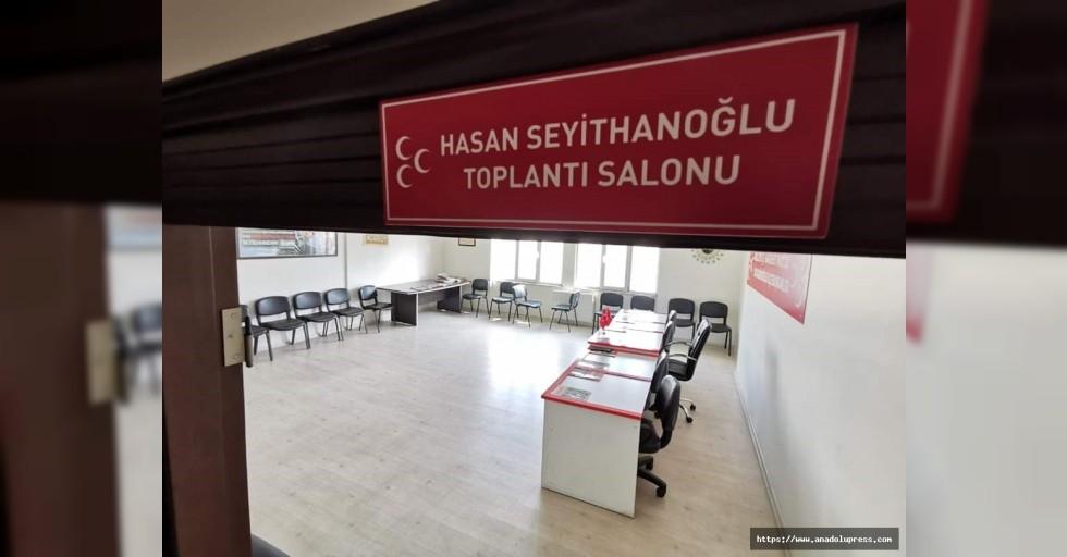 Seyithanoğlu'nun adı toplantı salonuna verildi