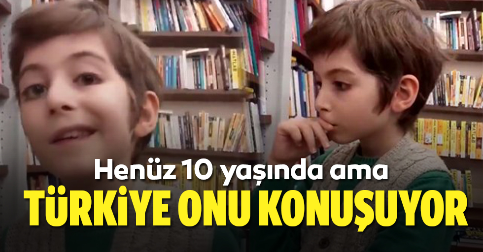 Sosyal medya, 10 yaşındaki Atakan'ı konuşuyor