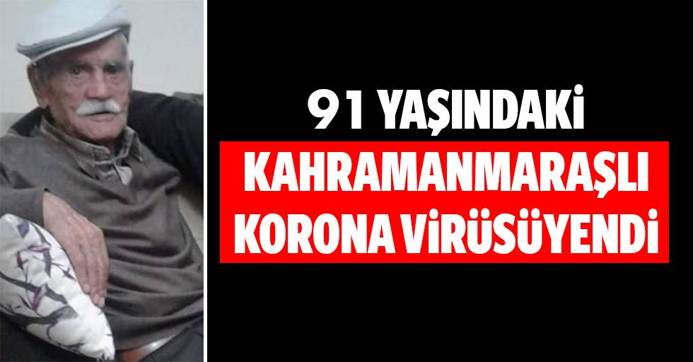 91 yaşındaki Kahramanmaraşlı korona virüsünü yendi