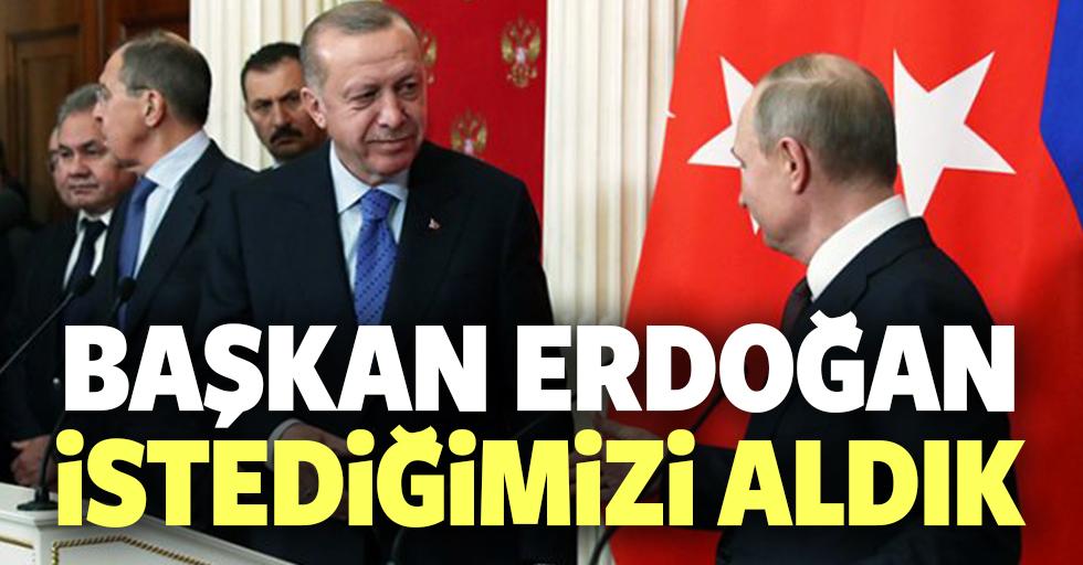 Erdoğan'dan Rusya dönüşü ilk açıklama: Burada amacımız ateşkesi sağlamaktı, bunu sağladık