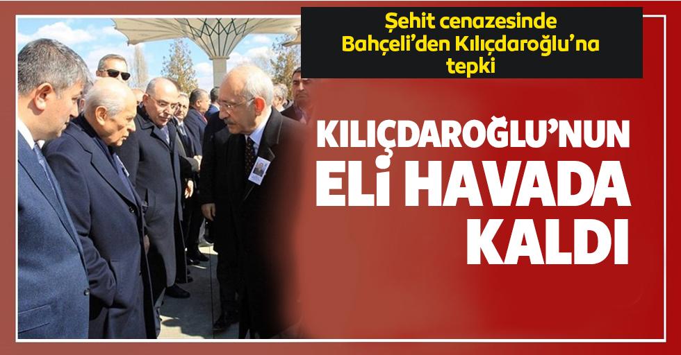 Kılıçdaroğlu'nun eli havada kaldı