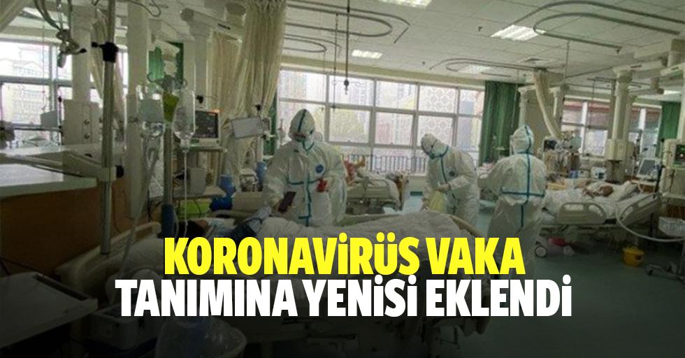 Koronavirüs vaka tanımına yenisi eklendi