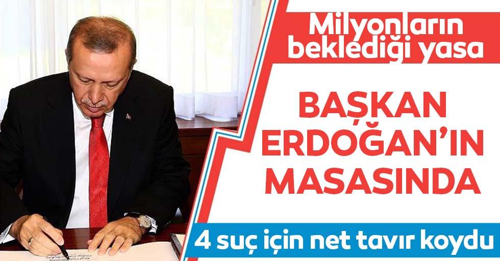 Tüm gözler orada! Af yasası Başkan Erdoğan'ın masasında!