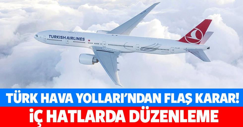 Türk hava yolları'ndan flaş karar!