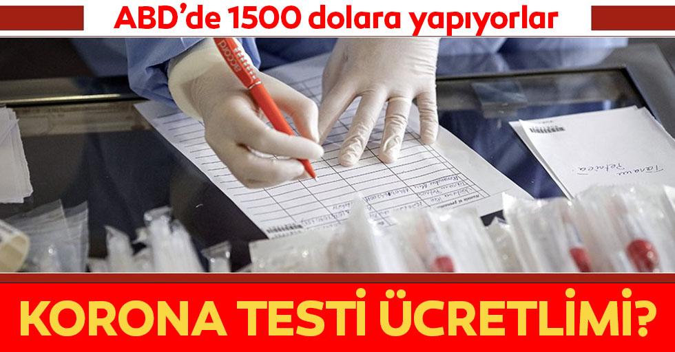 Türkiye'de koronavirüs testi ücretli mi?