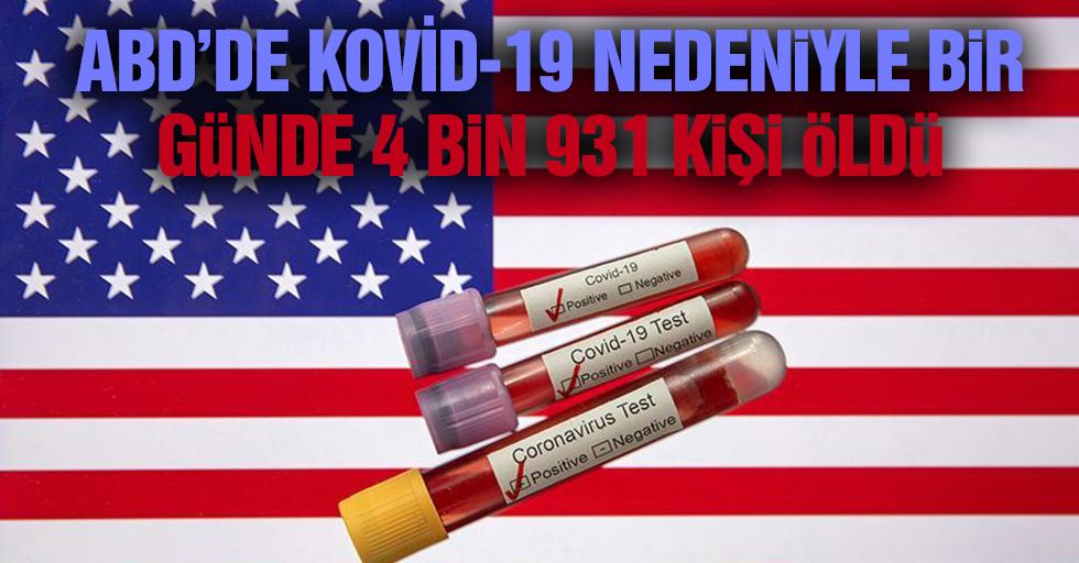 ABD'de Kovid-19 nedeniyle ölenlerin sayısı 30 bini geçti