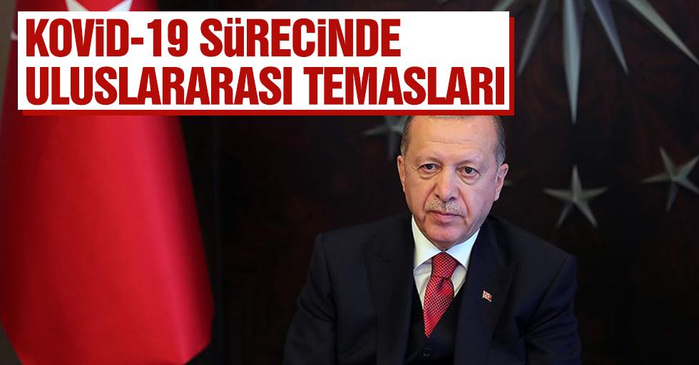 Cumhurbaşkanı Erdoğan'ın Kovid-19 Sürecinde Uluslararası Temasları