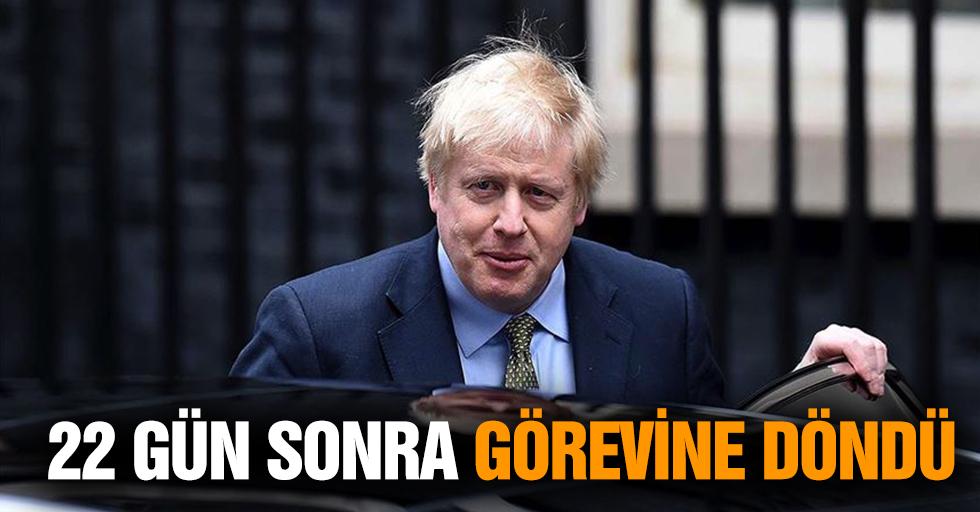 İngiltere Başbakanı Johnson 22 Gün Sonra Görevine Döndü
