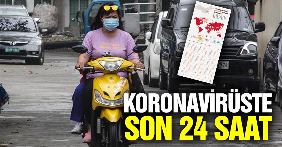 Koronavirüste Son 24 Saat
