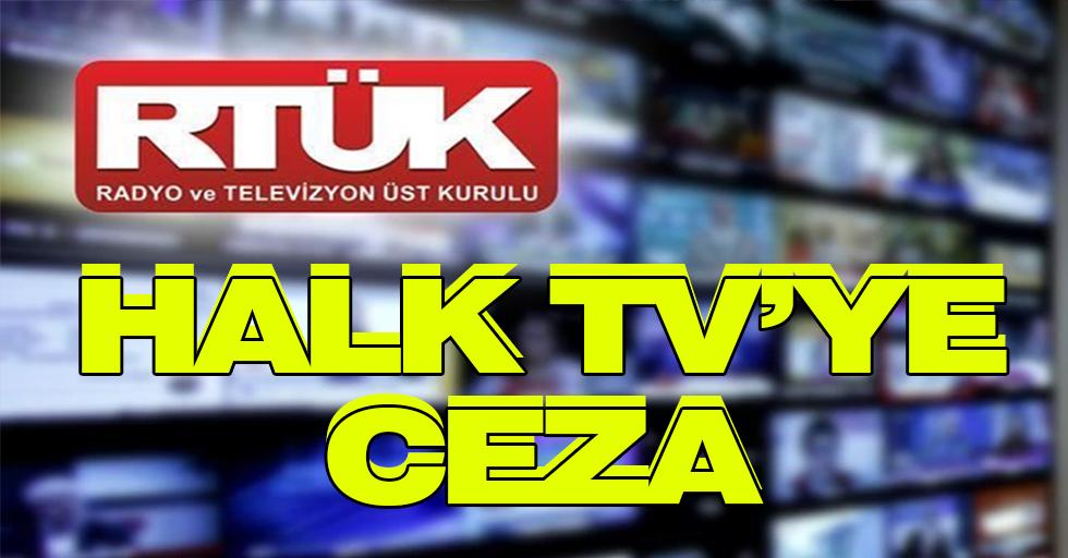 RTÜK'ten Halk TV'ye ceza