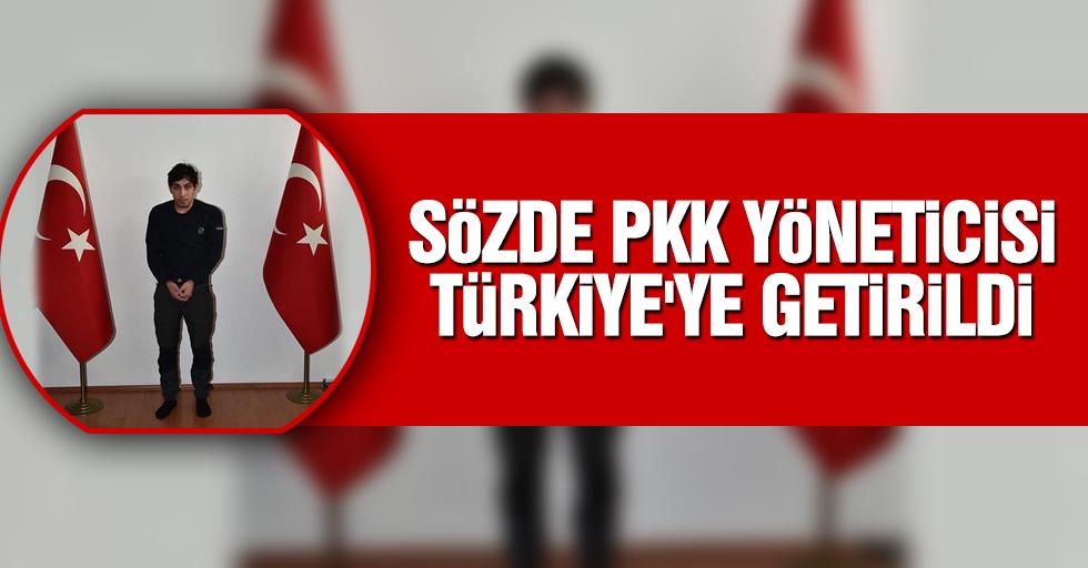 Sözde PKK yöneticisi MİT'in İsveç makamlarıyla koordinasyonu çerçevesinde Türkiye'ye getirildi