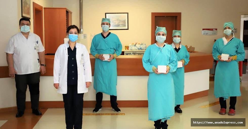 Sanko Üniversitesi Hastanesi Yönetiminden Hemşirelere Moral