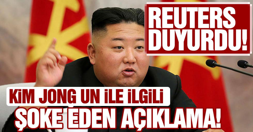 Reuters duyurdu! Kim Jong Un ile ilgili şoke eden açıklama!