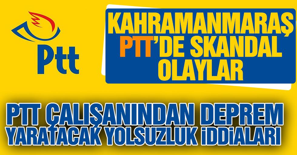 Sözleşmesi Fes Edilen PTT Çalışanından Deprem Yaratacak İddialar