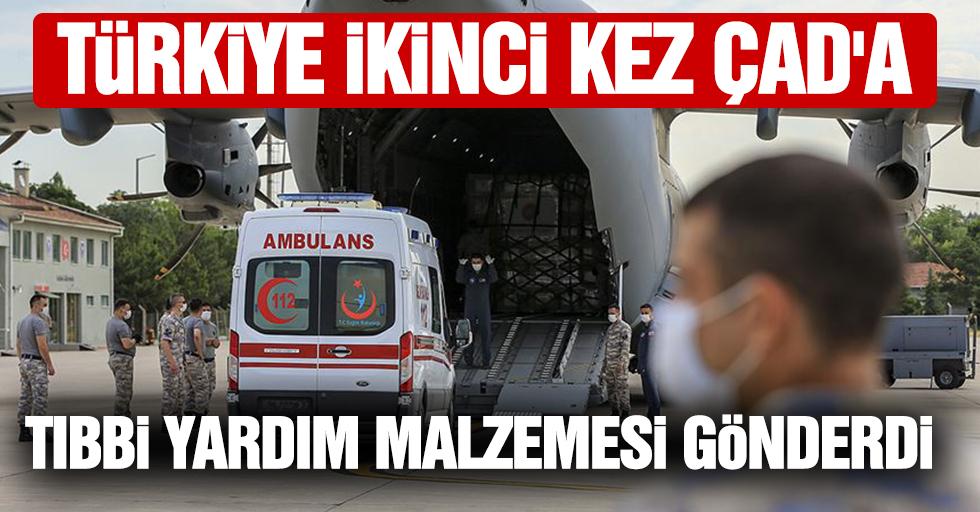 Türkiye ikinci kez Çad'a tıbbi yardım malzemesi gönderdi