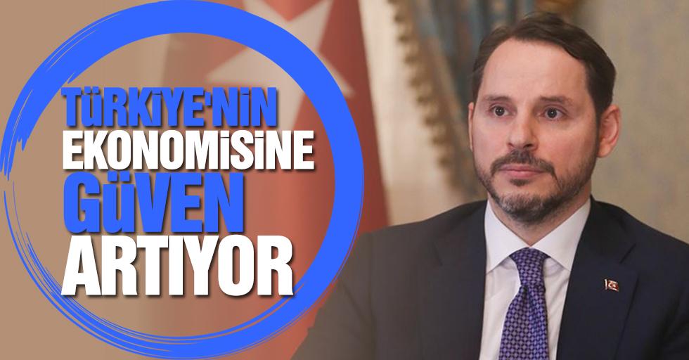 Türkiye'nin ekonomisine güven artıyor