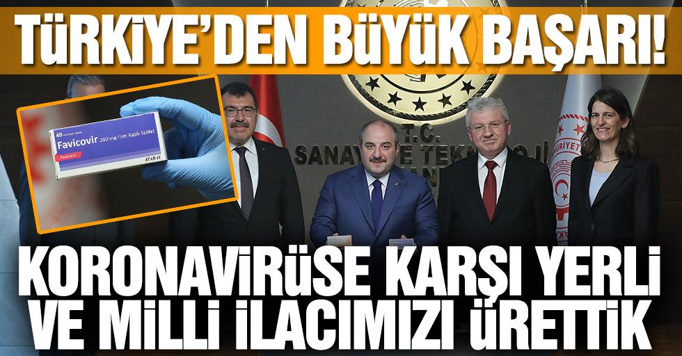 Türkiye'den büyük başarı! Koronavirüse karşı yerli ve milli ilacımızı ürettik