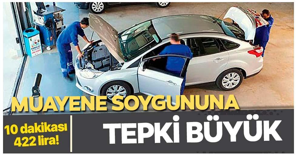 Araç muayene ücretlerine vatandaşlardan tepki