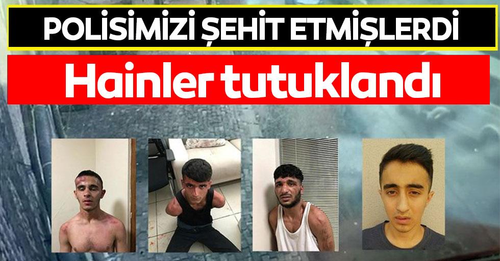 Bağcılar'da, polis memurunu şehit eden 4 kişi tutuklandı
