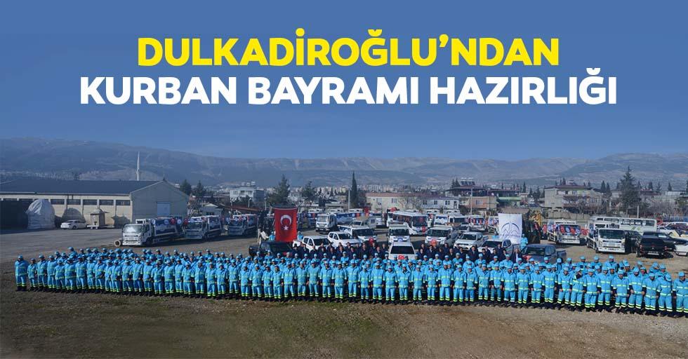 Dulkadiroğlu'ndan kurban bayramı hazırlığı