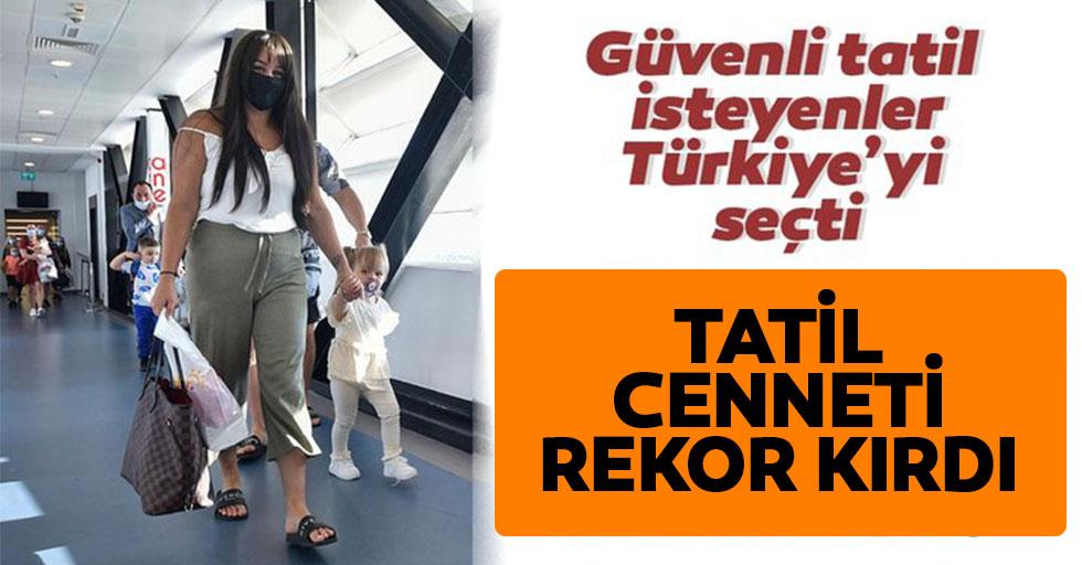 Güvenli tatilin adresi Türkiye oldu