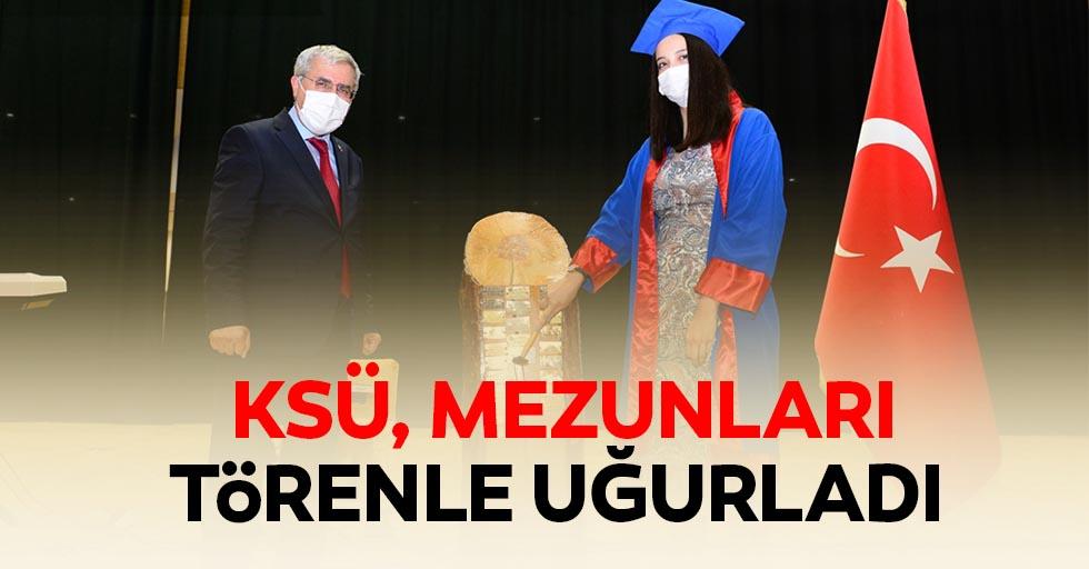 KSÜ mezunları törenle uğurladı