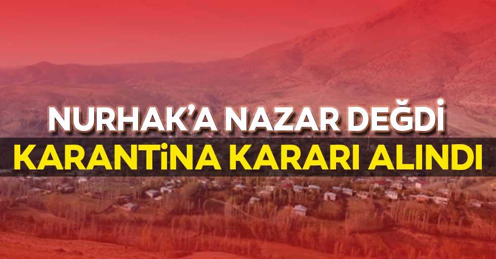 Nurhak'a nazar değdi! Karantina kararı alındı