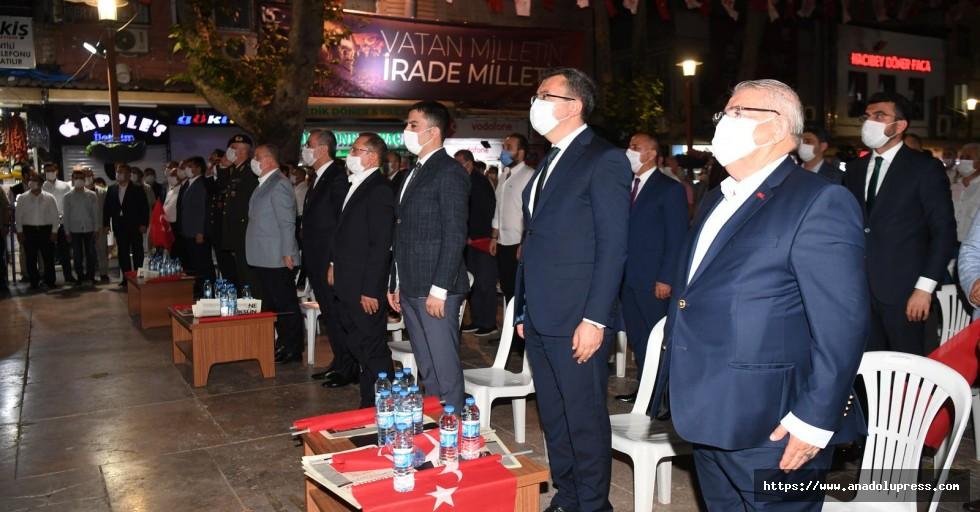 Onikişubat Belediyesi, 15 Temmuz'u vatandaşlarla kutladı