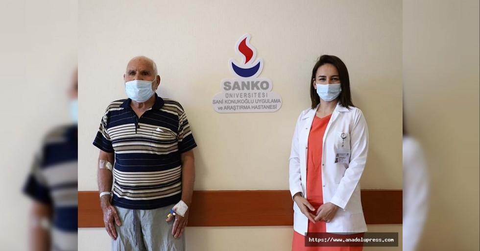 SANKO üniversitesi hastanesi'nde kornea nakli