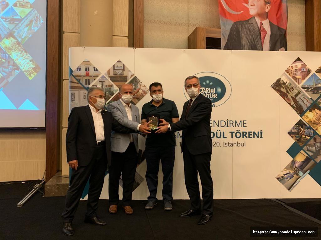 Tarih ve kültür şehri Dulkadiroğlu'na bir ödül daha