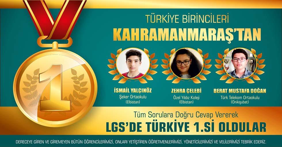 Türkiye şampiyonları Kahramanmaraş'tan çıktı
