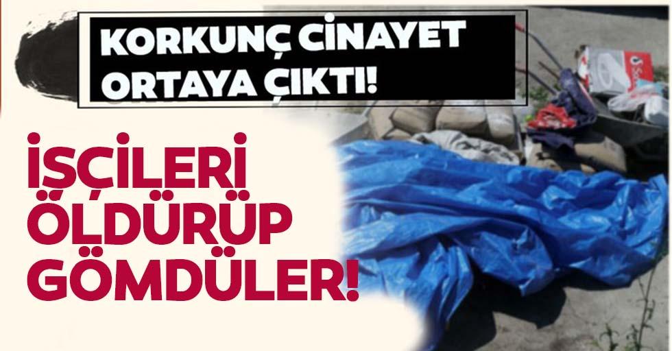Zonguldak'ta korkunç olay! İşçileri öldürüp gömdüler!