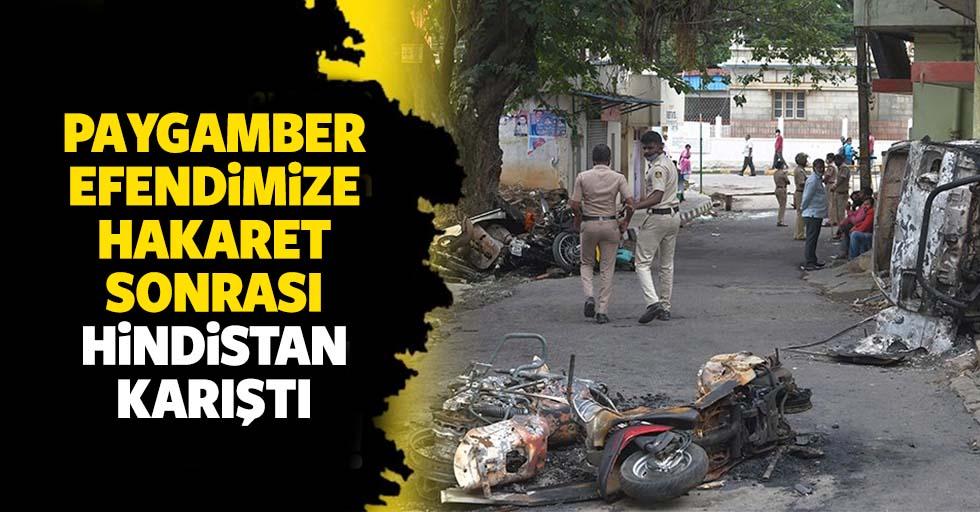 Hz. Muhammed'e yönelik aşağılık hakaretler sonrası Hindistan karıştı: 3 kişi hayatını kaybetti