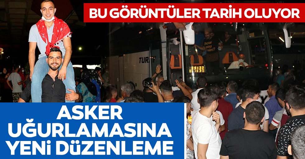 İstanbul'da asker uğurlamalarına yeni düzenleme: Adaylar taahhütname imzalayacak