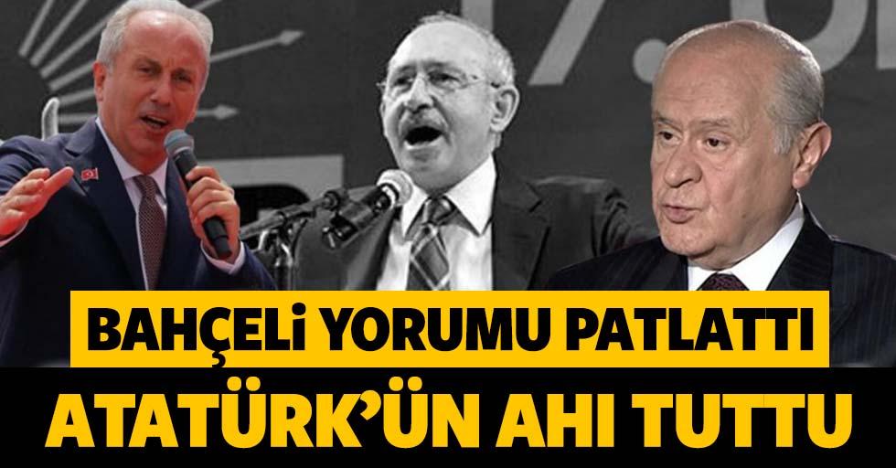MHP Lideri Devlet Bahçeli'den flaş Muharrem İnce açıklaması