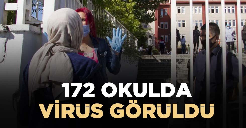 172 okulda virüs görüldü