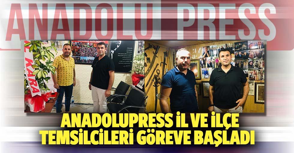 Anadolupress İl ve ilçe temsilcileri göreve başladı