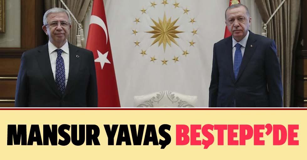 Başkan Erdoğan, Ankara Büyükşehir Belediye Başkanı Mansur Yavaş'ı kabul etti!