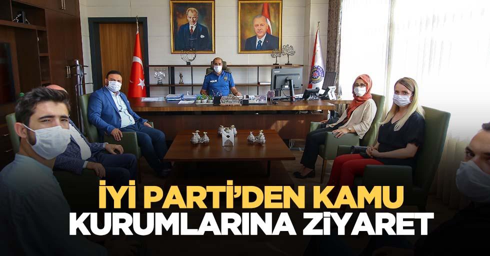 İYİ Parti'den kamu kurumlarına ziyaret