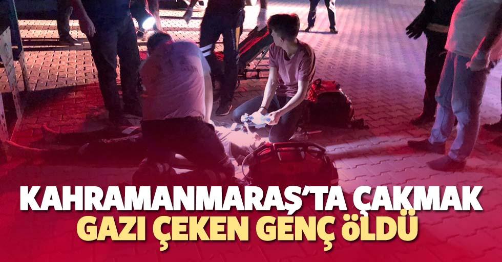 Kahramanmaraş'ta çakmak gazı çeken genç öldü