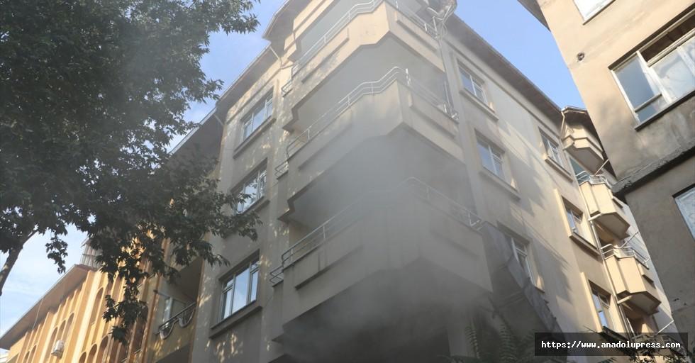 Kahramanmaraş'ta lokantada çıkan yangın söndürüldü