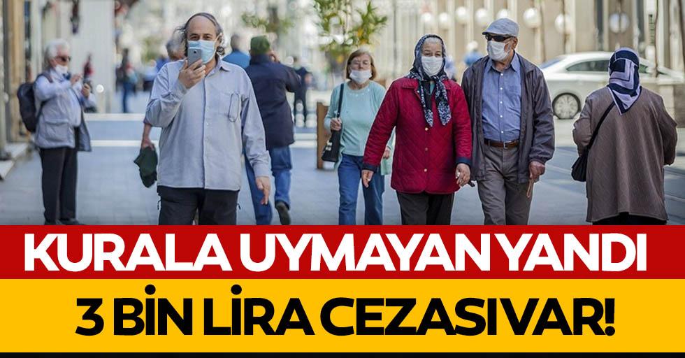 Koronavirüs tedbirleri kapsamında bu yasaklara dikkat! 3 bin TL cezası var