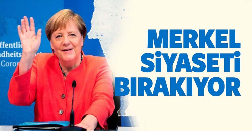 Merkel Siyaseti Bırakıyor