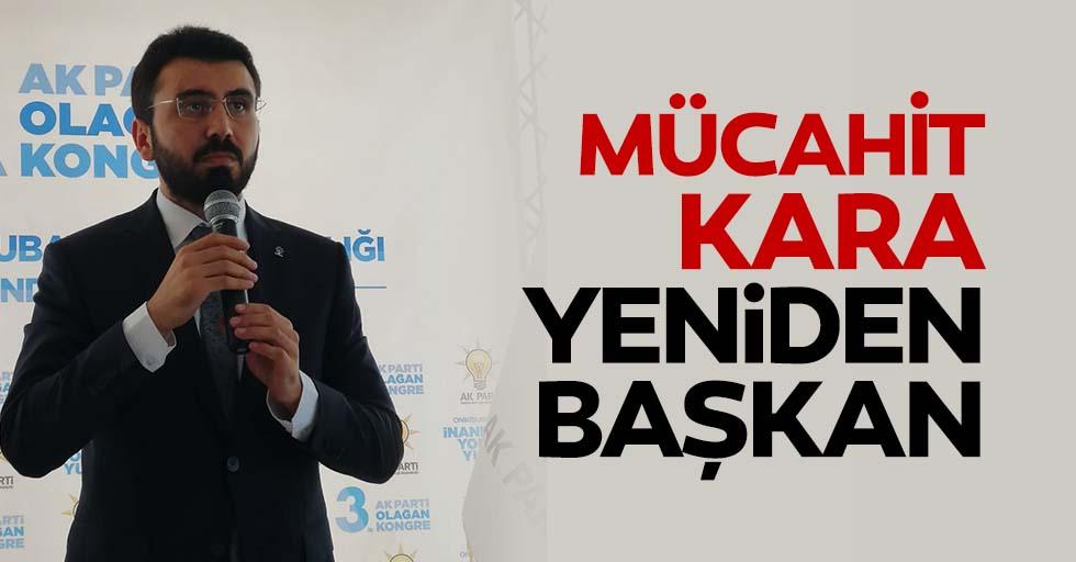 Mücahit Kara yeniden başkan seçildi
