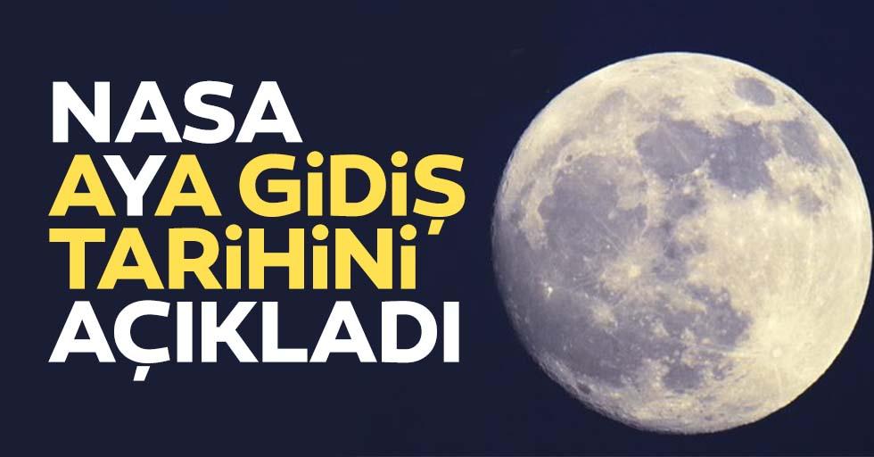 NASA resmen açıkladı! Bu tarihte Ay'a gidilecek!