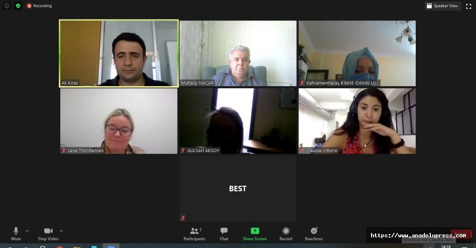 Proje Toplantısı Online yapıldı