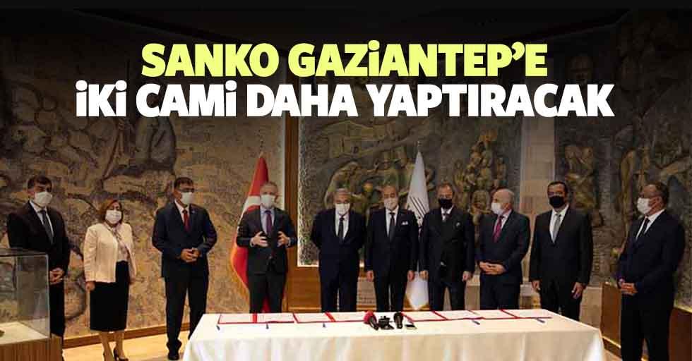 SANKO Gaziantep'e iki cami daha yaptıracak