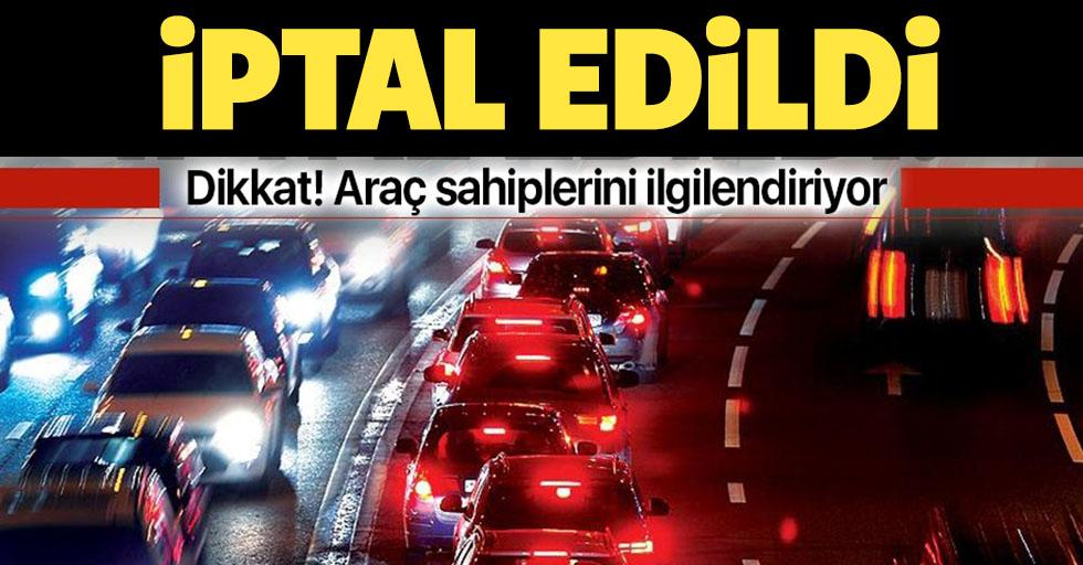 Araç sahiplerini ilgilendiriyor! AYM'den 'Trafik Sigortası' ile ilgili iptal kararı