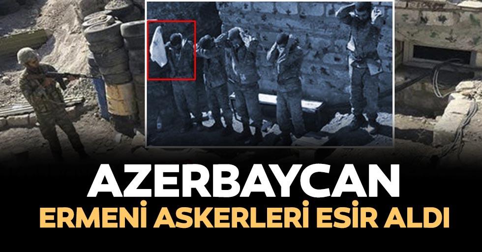 Azerbaycan, Ermeni askerlerini esir aldı