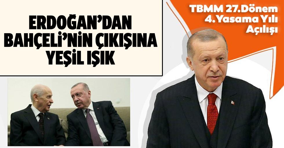 Başkan Recep Tayyip Erdoğan'dan Bahçeli'nin AYM çıkışı ile ilgili ilk yorum!